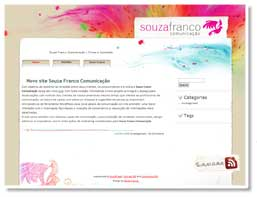 Design site Souza Franco
