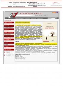 Telescópio no Almanaque Virtual